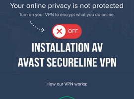 Installation av Avast SecureLine VPN