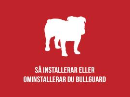Så installerar eller ominstallerar du BullGuard