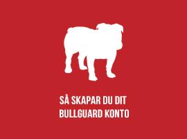Så skapar du ditt BullGuard konto
