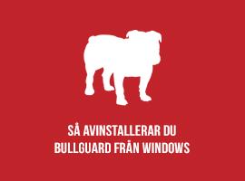 Så avinstallerar du BullGuard från Windows