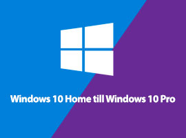Så här uppgraderar du Windows 10 Home till Windows 10 Pro