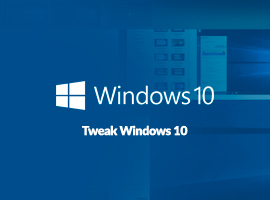 Tweak Windows 10 med fyra