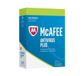 McAfee AntiVirus Plus Unlimited 2018