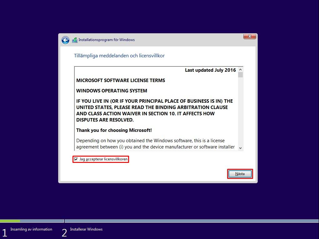 Så Här Installerar Du Windows 10
